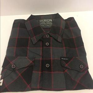 Dixxon flannel snap on limited edition